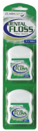 Claradent Dental Floss - 50m x 2 Pack